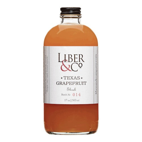 Liber & Co. Texas Grapefruit Shrub, 17 oz