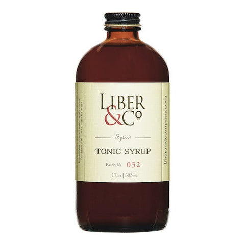Liber & Co. Spiced Tonic Syrup, 17 oz