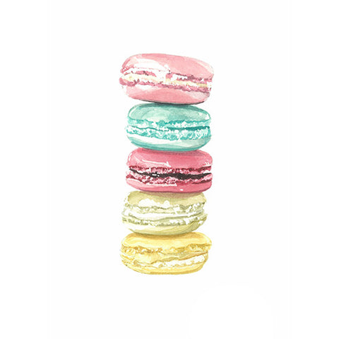 Macarons Greeting Card - Blank