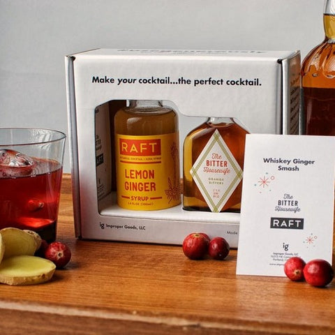 Whiskey Ginger Smash Cocktail Kit