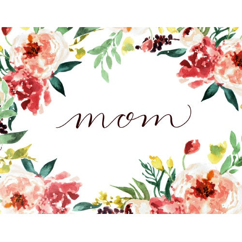 Mom Greeting Card - Blank