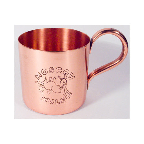 Moscow Mule Copper Mug, with Engraving