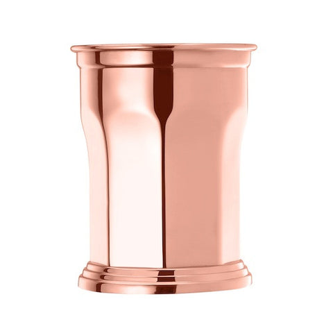 Octagonal Julep Cup, Copper