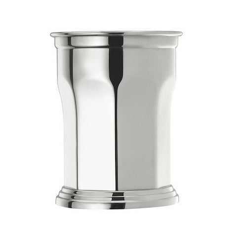 Octagonal Julep Cup, Stainless Steel