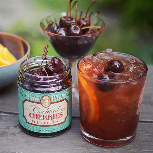 Paw Paw's Cocktail Cherries - The Original