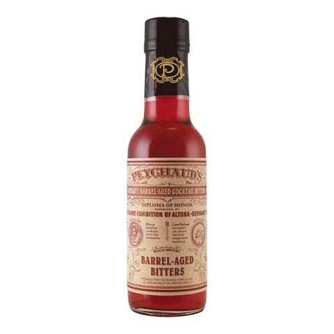 Peychaud's Whiskey Barrel-Aged Bitters, 5 oz