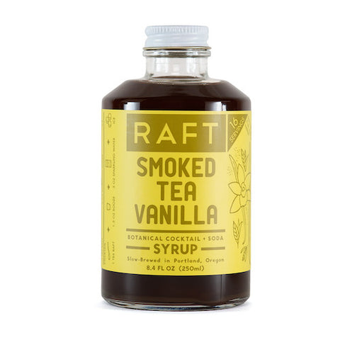 Raft Smoked Tea Vanilla Syrup