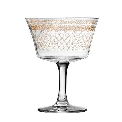 Retro Fizz 1910, Gold - Set of 6