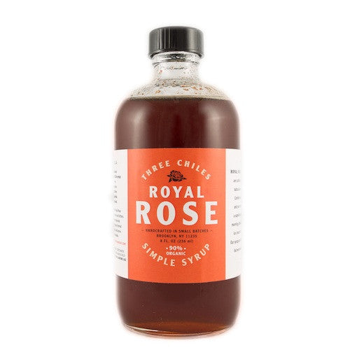 Royal Rose Three Chiles Syrup, 8 oz