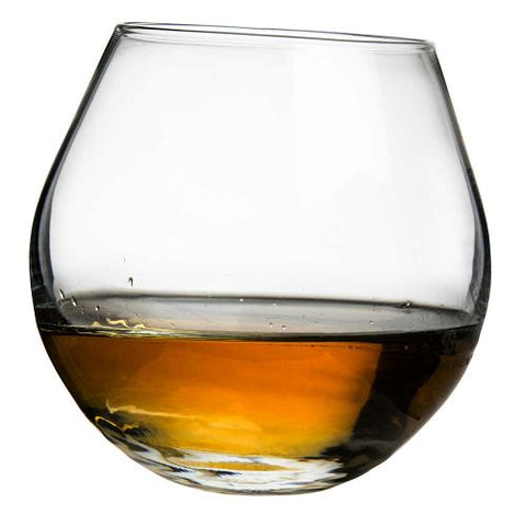 Rocking Whisky Glass