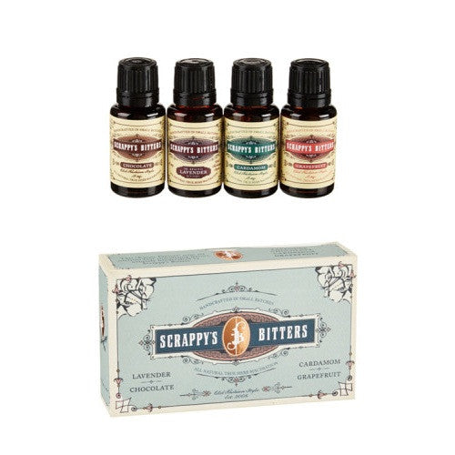Scrappy's Bitters Gift Pack Blue