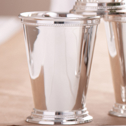 Mint Julep Cup, Silver-Plated