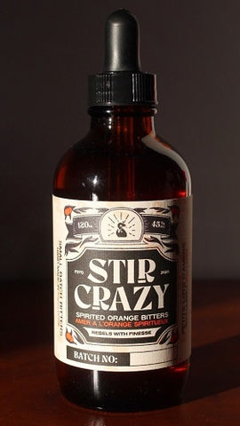 Stir Crazy Spirited Orange Bitters