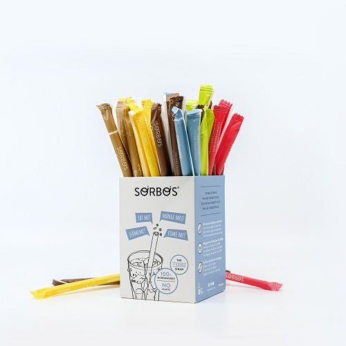 Sorbos Edible Straw - Lemon