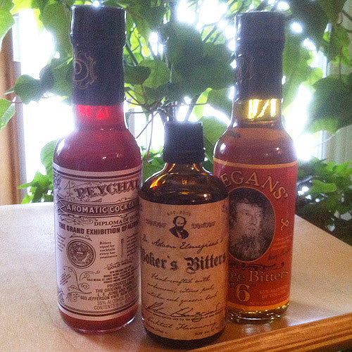 TCB's Most Wanted Bitters 3-Pack (Peychaud's, Regans' and Boker's)