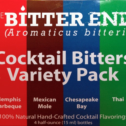The Bitter End Cocktail Bitters Variety Pack