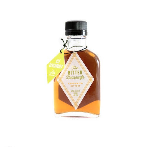The Bitter Housewife Cardamom Bitters, 100 ml