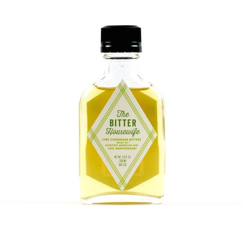The Bitter Housewife Lime Coriander Bitters, 100 ml