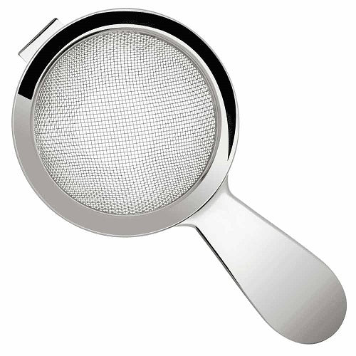 Biloxi Fine Strainer Short Handle, Stainless Steel