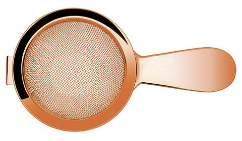 Biloxi Fine Strainer Short Handle, Copper