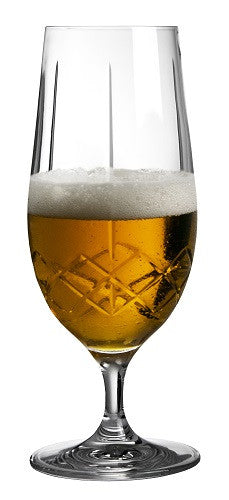 Ginza Tall Cuts Pilsner Glass - Set of 6