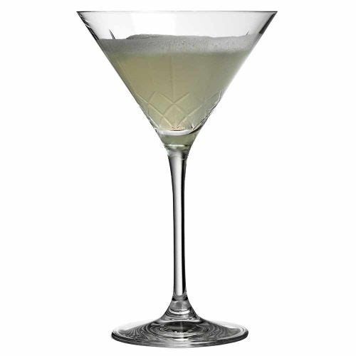 Ginza Tall Cuts Martini Glass - Set of 6