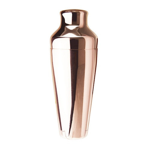 2-Piece Cocktail Shaker, Copper