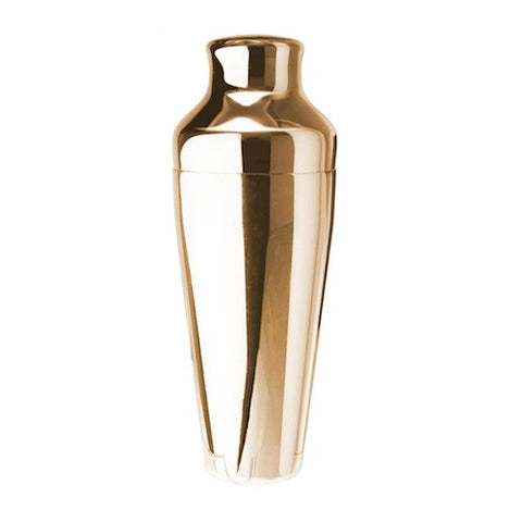 2-Piece Cocktail Shaker, Gold