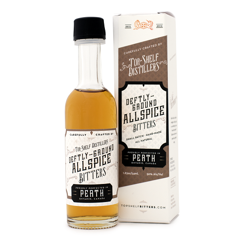 Top Shelf Deftly-Ground Allspice Bitters