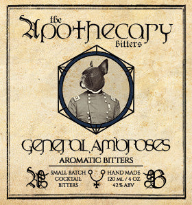 Apothecary General Ambrose's Aromatic Bitters, 4 oz