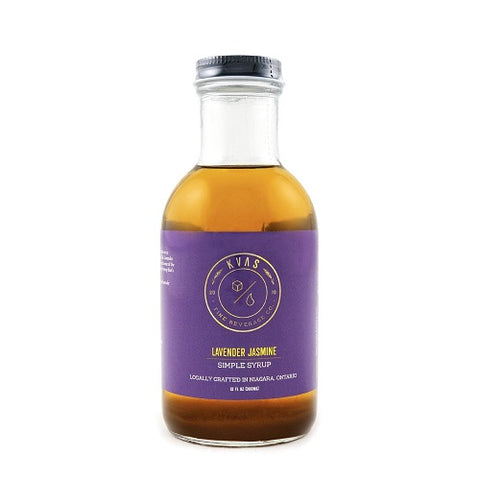 Kvas Lavender Jamine Simple Syrup