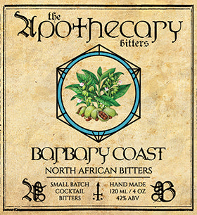 Apothecary Barbary Coast North African Bitters, 4 oz