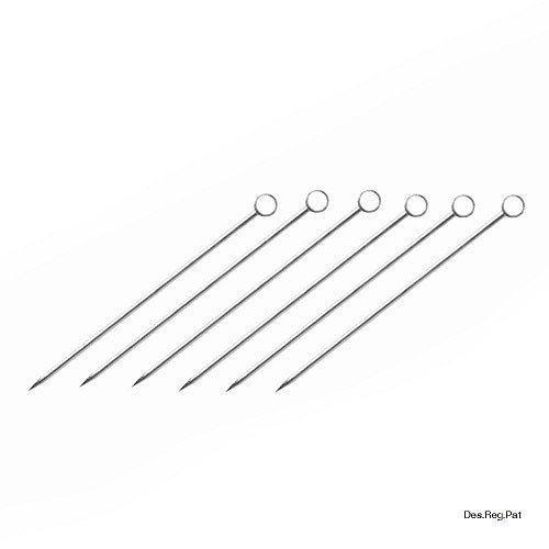 BarPick Disc - set of 6 stainless steel picks