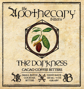 Apothecary The Darkness Cacao Coffee Bitters, 4 oz