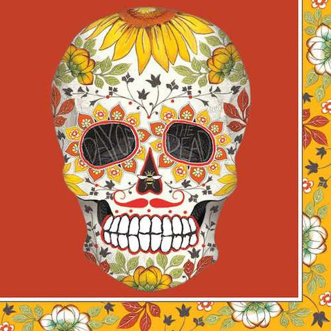 Cocktail Napkins: Day of the Dead