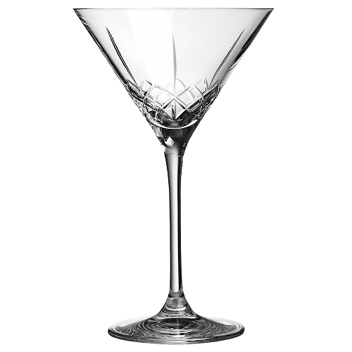Ginza Tall Cuts Martini Glass