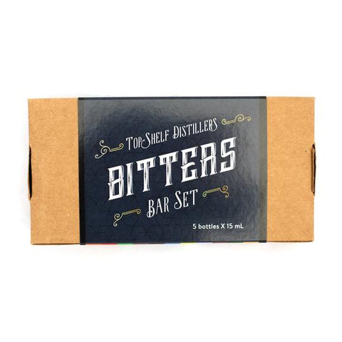 Top Shelf Bitters Bar Set