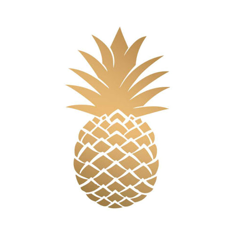 Cocktail Napkins: Golden Pineapple