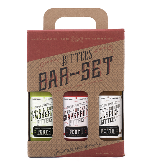 Top Shelf Spring Bitters Bar-Set