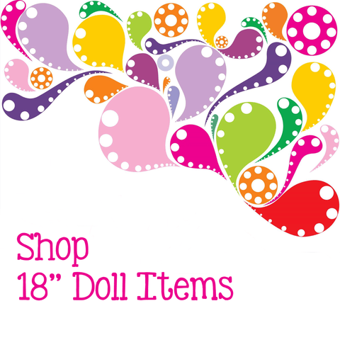 "18"" Doll Items"