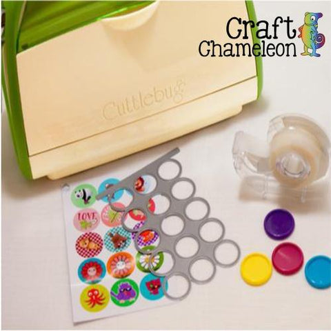 "1"" Circle Die Wafer Thin - CraftChameleon  - 1"