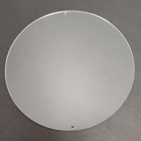 "8.75"" Round Acrylic Blank Disk"