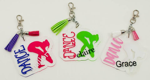 Acrylic Dance Shape with Dancer - CraftChameleon  - 1