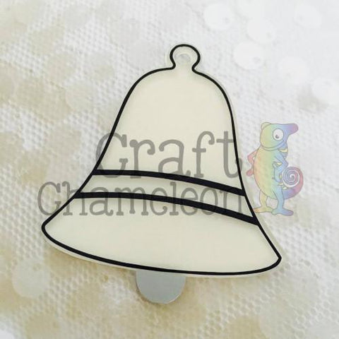 Acrylic Single Bell - CraftChameleon  - 1