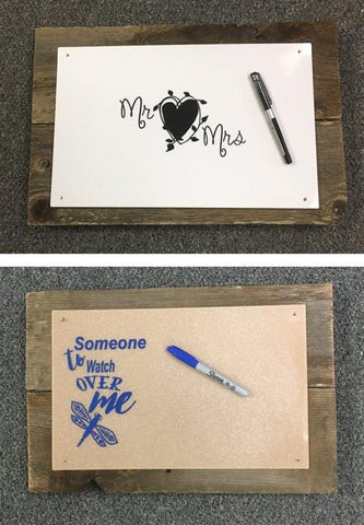 Guest Book Board Designs - CraftChameleon