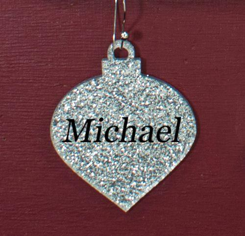 "Acrylic 2"" Deco Christmas Ornament for our Christmas Boards or smaller Christmas Trees - CraftChameleon  - 1"