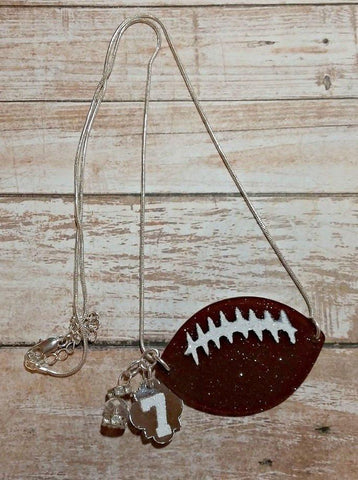 Footballs Laces for Necklace - CraftChameleon