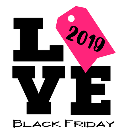 LOVE Black Friday Wordart Digital Design