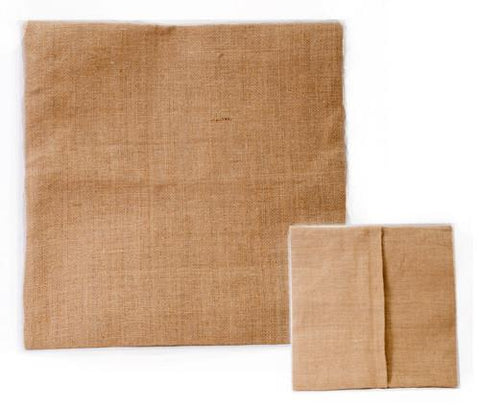Blank Burlap Pillow Covers or Cases - CraftChameleon