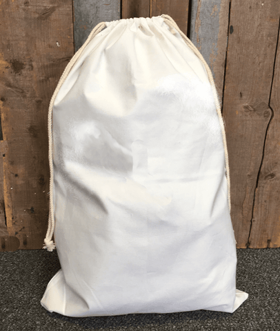 "Blank Natural Canvas Bags 18"" x 27.5"" - Ready for you monogram or personalize - CraftChameleon"